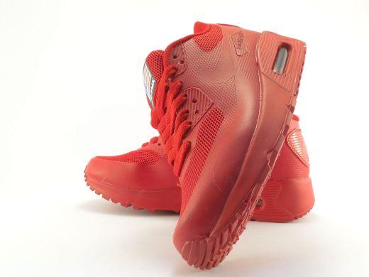 Кроссовки Женские Nike Air Max 90 Hyperfuse Red купить в TEMPOSHOP. 90383aec1b2