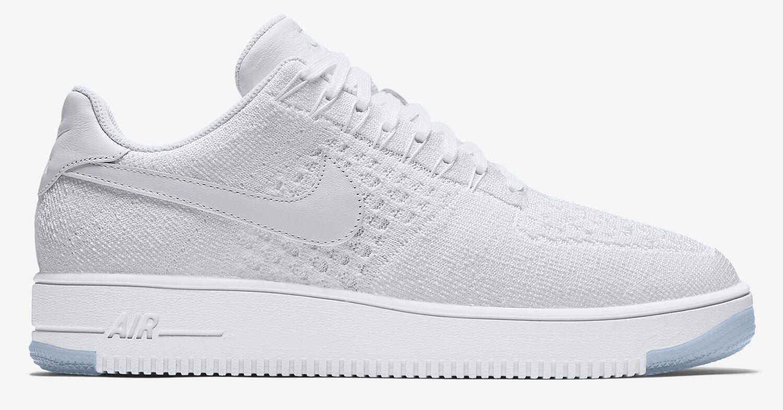 494d6971 Кроссовки Nike Air Force 1 Ultra Flyknit Low White. Хит