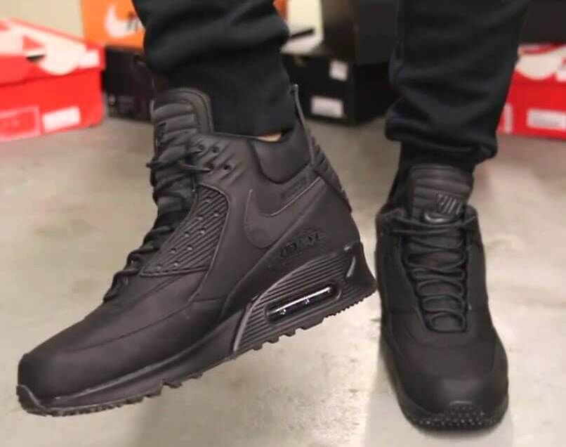 ad28a833 Кроссовки Nike Air Max 90 Winter Sneakerboot