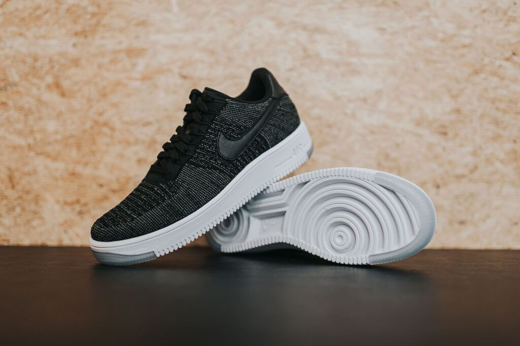 9c96fcfd Кроссовки Nike Air Force 1 Ultra Flyknit Low Black купить в TEMPOSHOP.
