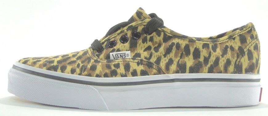 купить Кеды Vans Authentic Leopard Yellow в Украине