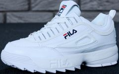 "Кроссовки FILA Disruptor II FUR ""White"""