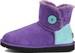 UGG Bailey Button Mini Neon Purple