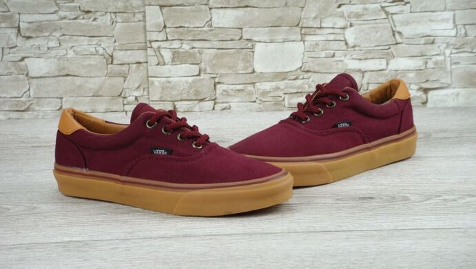 "купить Кеды Vans C&L ERA ""Bordo/Gum"" в Украине"