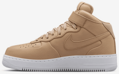"Кроссовки NikeLab Air Force 1 Mid ""Vachetta Tan"""
