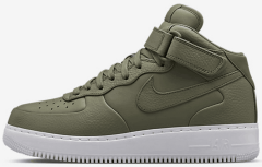 "Кроссовки NikeLab Air Force 1 Mid ""Olive Green"""