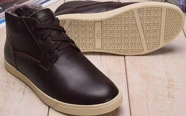 купить UGG Kramer Leather Chocolate в Украине