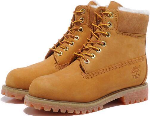 c1c5014b Ботинки Timberland с мехом 10063 Fur Lined Premium купить в TEMPOSHOP.