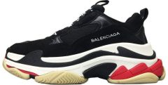 "Кроссовки Balenciaga Triple S ""Black/White/Red"""