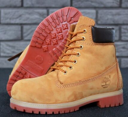 купить Ботинки Timberland Yellow (С МЕХОМ) в Украине