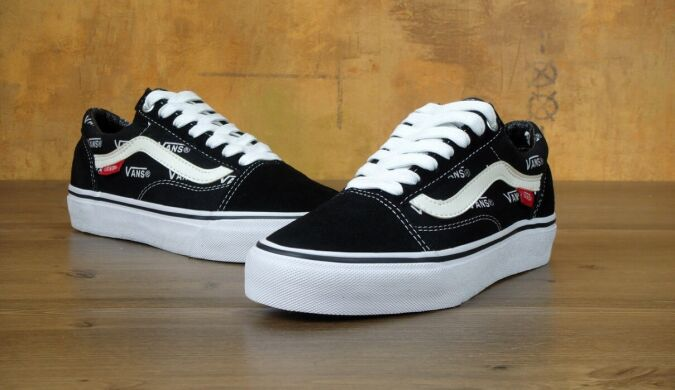 "купить Кеды Vans Old Skool PRO ""Black/White"" в Украине"