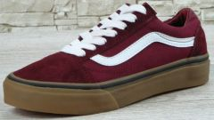 "Кеди Vans Old Skool Suede ""Red/White/Gum"""