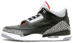 "Кроссовки Nike Air Jordan 3 Black Cement ""Black Cement"""