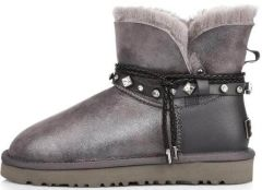 UGG Bailey Braid Mini Grey