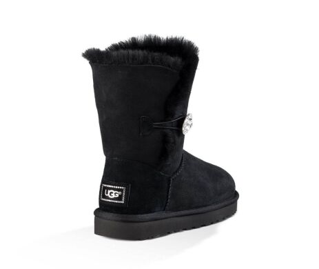 купить UGG Bailey Button Bling Black в Украине