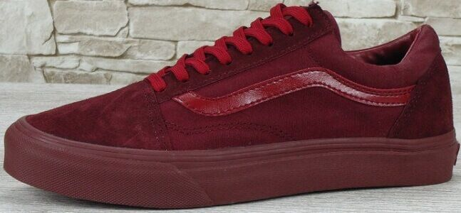 "купить Кеды Vans Old Skool Suede ""Mono Bordo"" в Украине"
