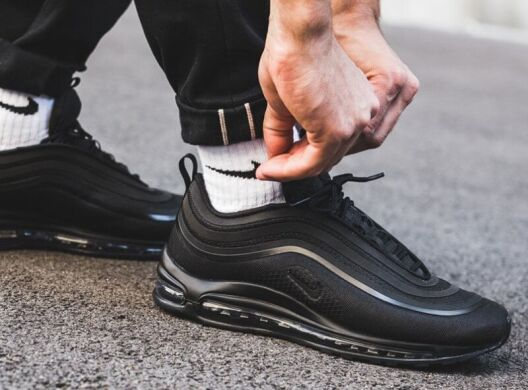 кроссовки Nike Air Max 97 Ultra 17 Triple Black купить в Temposhop