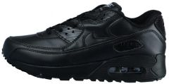 Кроссовки Nike Air Max 90 Black Leather