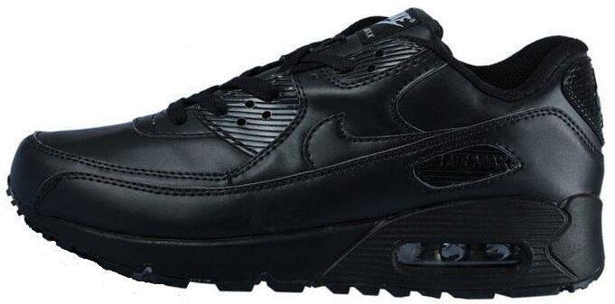 Кроссовки Nike Air Max 90 Black Leather купить в TEMPOSHOP. 2341b0dab67