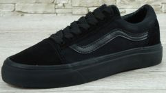 "Кеди Vans Old Skool Suede ""Mono Black"""