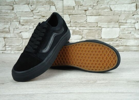 "купить Кеды Vans Old Skool Suede ""Mono Black"" в Украине"