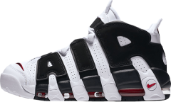 "Кроссовки Nike Air More Uptempo ""White/Black"""