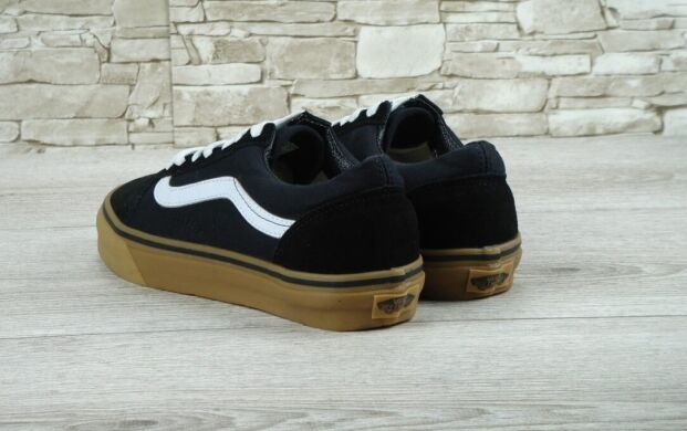 "купить Кеды Vans Old Skool Suede ""Black/White/Gum"" в Украине"