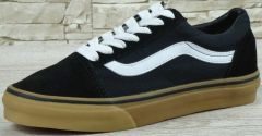"Кеди Vans Old Skool Suede ""Black/White/Gum"""