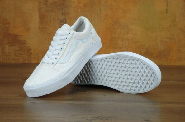 "купить Кеды Vans Old Skool ""Pure White"" в Украине"