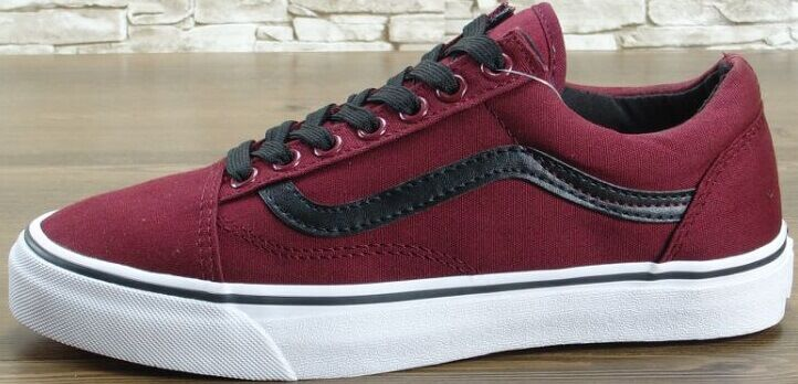 "купить Кеды Vans Old Skool ""Bordo/Black"" в Украине"