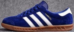 "Кроссовки Adidas Hamburg ""Blue/White"""