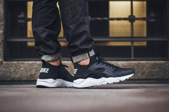 "купить Кроссовки Nike Air Huarache Ultra Run ""Black/Anthracite/White"" в Украине"