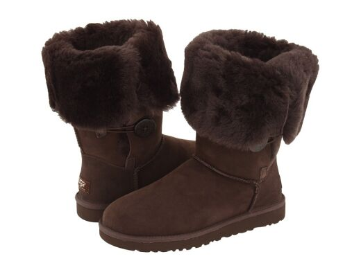 купить UGG Bailey Button Triplet Chocolate в Украине