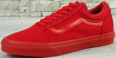 "Кеди Vans Old Skool ""Mono Red"" 2016"