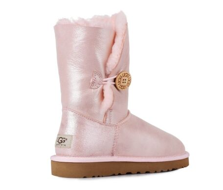 купить UGG Bailey Button Metallic Pink в Украине