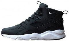 "Кроссовки Nike Huarache High Top ""Black"""