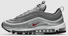 "Кроссовки Nike Air Max 97 OG QS ""Metallic Silver/White"""