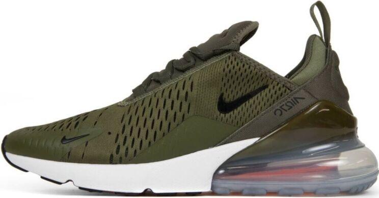 Кроссовки Nike Air Max 270  quot Olive quot  купить в TEMPOSHOP. 4c0259d73ba