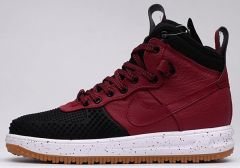 "Кросівки Nike Lunar Force 1 Duckboot ""Black/Team Red"""