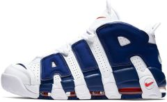 "Кроссовки Nike Air More Uptempo 96 ""White/Deep Royal Blue"""