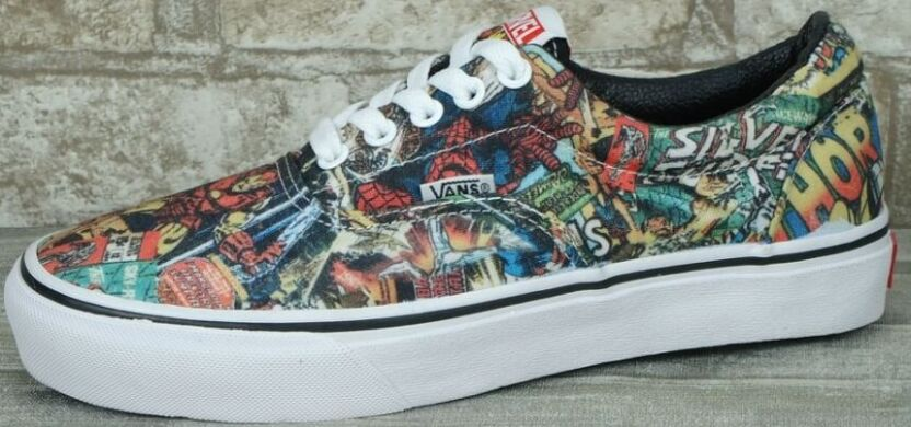 Кеды Vans ERA MARVEL Comics купить в TEMPOSHOP. 8825ace36f1