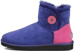 UGG Bailey Button Mini Neon Blue
