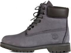 Ботинки Timberland Grey/Black (С МЕХОМ)