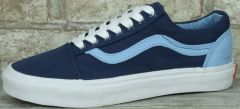 "Кеды Vans Old Skool ""Navy/Light Blue"""