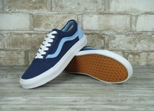 "купить Кеды Vans Old Skool ""Navy/Light Blue"" в Украине"