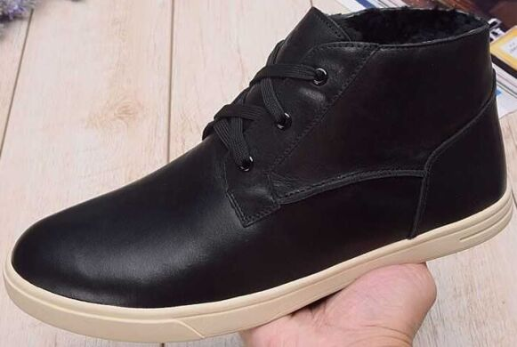 купить UGG Kramer Leather Black в Украине