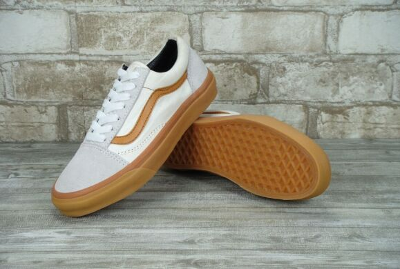 "купить Кеды Vans Old Skool Suede ""White/Grey/Gum"" в Украине"