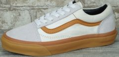 "Кеди Vans Old Skool Suede ""White/Grey/Gum"""