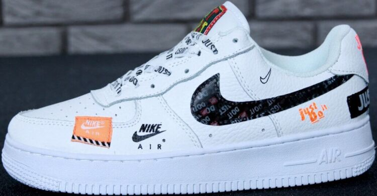 391bfbc6 Кроссовки Nike Air Force 1 JUST DO IT Pack Low