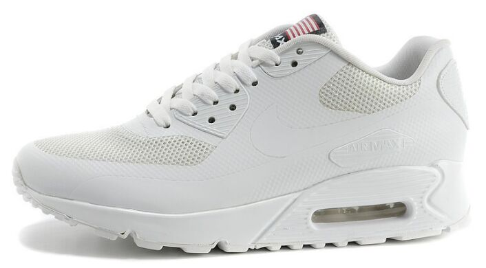 673c7842 Кроссовки Nike Air Max 90 Hyperfuse Pure White купить в TEMPOSHOP.